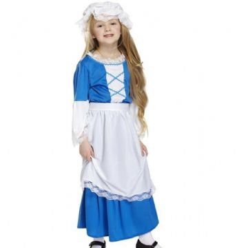 Girl's Fancy Dress | Tudor Girl Costume